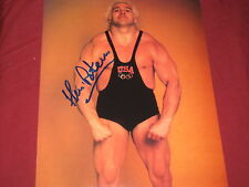 WWF & OLYMPIC WEIGHT LIFTING LEGEND KEN PATERA AUTOGRAPHED RARE 8X10 W/COA