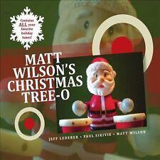 NEW Matt Wilson's Christmas Tree-O (Audio CD)