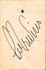 LEE TREVINO Signed Claim Check