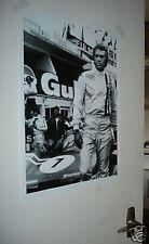 Steve McQueen Le Mans Door Poster NEW #3 Gulf