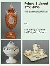 Steingut,Fachbuch,Creamware,Bayern,Lunéville,Wedgwood,Creil,Prag,u.v.a.,NEU,2014