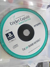 cricket captain playstation disc only