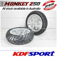 KDF 10 WHEEL RIM 50 FRONT REAR ALLOY GORILLA TYRE FOR HONDA MONKEY Z50 Z50J Z50A