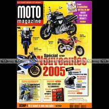MOTO MAGAZINE N°211 YAMAHA XTX 660 HONDA VFR 800 KTM 640 LC4 HUSQVARNA 450 SMR