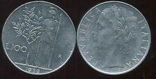 ITALIE  ITALY  100 lire 1959