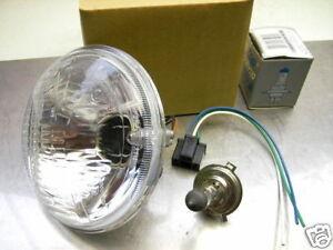 6 VOLT H4 SCHEINWERFER EINSATZ LAMPE REFLEKTOR + 6V BIRNE YAMAHA XT250 XT500