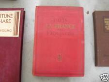 1944 Book La France Paris et Les Provinces b Roumagnac