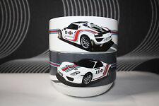 2 Stück Porsche 15 Martini Racing Müslischalen 500ml Schalen 0,5L 918 Spyder