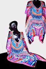Kaftans / Turquoise-Pinks-Orange-Coral / Wholesale   RR$129.95 / Embellished