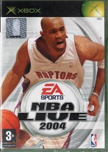 NBA LIVE 2004 XBOX ITA GIOCO NUOVO SIGILLATO Microsoft Xbox