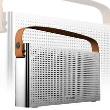 Bluetooth Lautsprecher Akku USB MP3 System AUX Ledergriff Musik Anlage BTS-200