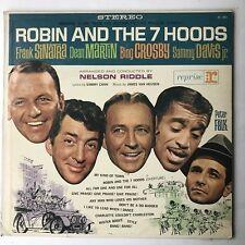 Frank Sinatra Robin and the 7 Hoods OST LP VG/EX Rat Pack Dean Martin