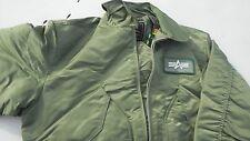 USAF CWU-45P Flight Jacket 100% Nylon Size  large  MFG ALpha Industries NWT