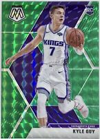 2019-20 Panini Prizm Green Mosaic Kyle Guy Rookie Card RC Sacramento Kings 📈🔥