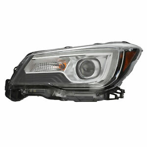 OEM 2017-2018 Subaru Forester Driver Side Head Light Lamp Assembly 84002SG272