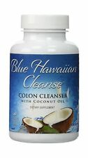 Blue Hawaiian Cleanse - Colon Cleanser with Coconut Oil - 60 vc... Free Shipping
