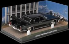 JAMES BOND 007 - LINCOLN CONTINENTAL CAR - GOLDFINGER   -DIARAMA DISPLAY- 1:43