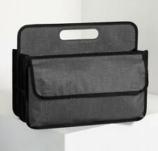 thirty one Deluxe Double Duty Caddy - Charcoal Crosshatch - NEW IN BAG!!!!!