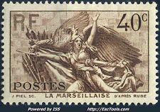 FRANCE N° 315 NEUF * AVEC CHARNIERE (BL)