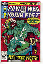 Power Man And Iron Fist 66 Marvel 1980 NM Luke Cage 2nd Sabretooth Frank Miller