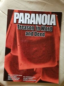 Treason in word and deed paranoia roleplaying RPG book MGP mongoose