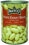 Natco - 2 x Conserve de haricots blancs à l'eau salée