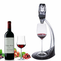 Latest Red Wine Decanter Pourer With Filter Stand Holder Vodka Quick Air Aerator