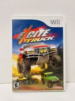 Excite Truck (Nintendo Wii, 2006) Complete With Manual Fast Free Shipping