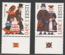2013 Estonia  National Costumes Traditions MNH
