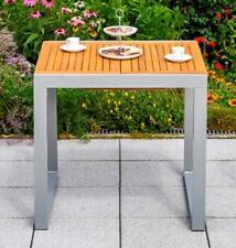 MX Alu Gartentisch Naxos I Terrassentisch Klapptisch Balkontisch Holztisch Tisch