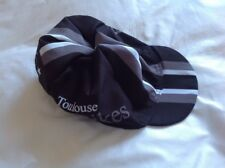 FRENCH CYCLING QUALITY SUMMER CAP - TOULOUSE BIKES - BLACK - GREY WHITE - NOS