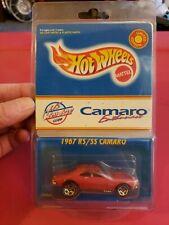 1997 Hot Wheels US Camaro Club Camaro Red 1967 RS/SS Camaro! Rare VHTF
