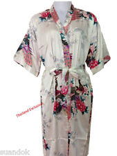 c41c79c138 Ladies Silk Kimono. Dressing Gown Robe One Size Fits Regular Attractive  Design.