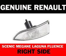 GENUINE RENAULT LAGUNA MEGANE GRAND SCENIC DOOR WING MIRROR INDICATOR RIGHT SIDE