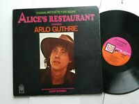 ARLO GUTHRIE - Alice's Restaurant 1969 FOLK ROCK Film Score (LP) VG+/EX