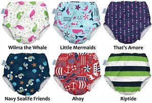 My Swim Baby Reusable Cloth Swim Diaper for Boys or Girls 9-45 lbs - 86884