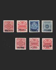 VINTAGE:TURKEY-CILICIA 1919 ROW SCOTT # J1-J6 $ 196 LOT # VSACILI1919A-B90