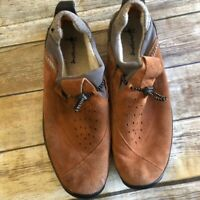 Timberland Smartwool Chestnut Leather Suede Nubuck Slip On Loafers 10160 Mens 15