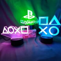 Sony Playstation 5  Elegant Controller Button LED Table Decor Display 16 Colors