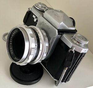Alte Spiegelreflexkamera EDIXA Reflex - ein Oldtimer aus den 50er Jahren!