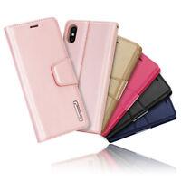 For Apple iPhone X 6 7 8 Plus -- Luxury Hanman Leather Wallet Flip Case Cover