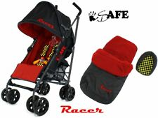 SALE!!! iSafe - Racer Stroller Buggy Pushchair Complete With Foot Muff And Head