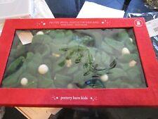Pottery Barn Kids Felt mistletoe garland Christmas New in box