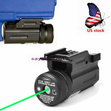 Us Qd Green Laser Sight for Rifle Gun G17/19/22 20mm Picatinny Weaver Rail Mount