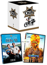 CHiPs: Complete Series Seasons 1 2 3 4 5 6 + Movies '99 & Remake Box/DVD Set(s)