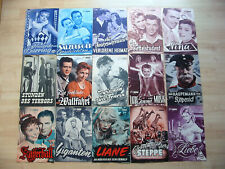 NFP / 15 Filmprogramme 1956 / Neues Film Programm Konvolut Kinoprogramm Rarität