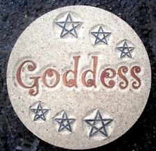 Goddess mold plaster concrete gothic wicca pagan mould