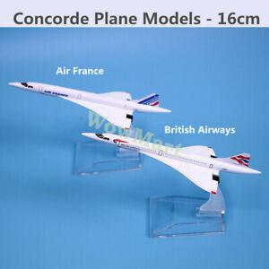 Super Quality Metal 16cm Concorde Plane Model Collection