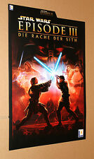 Star Wars Episode III 3  promo German Press Kit Sheet Info Poster 2005