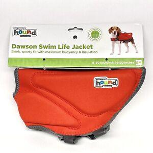 Outward Hound Dawson Swim Dog Life Jacket Red SM 15-30 lbs Girth: 16-20 in